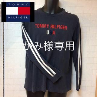 トミーヒルフィガー(TOMMY HILFIGER)の訳あり! TOMY  HILFIGER トミーヒルフィガー 長袖Tシャツ(Tシャツ(長袖/七分))