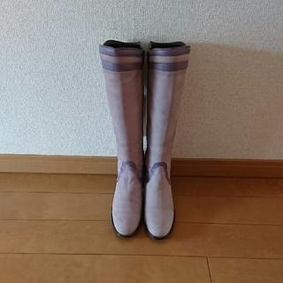 ツモリチサト(TSUMORI CHISATO)の★tsumori chisato★本革 ロングブーツ 23㎝(ブーツ)