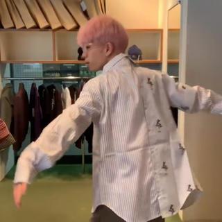 ジョンローレンスサリバン(JOHN LAWRENCE SULLIVAN)のデラダ オフショルダーレイヤードシャツ(シャツ)