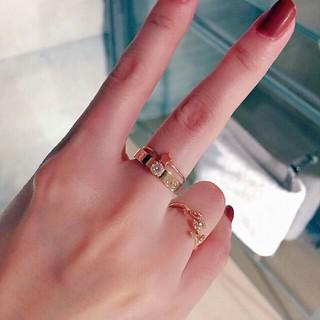 カルティエ(Cartier)の本物 Cartier リング 6号 ピンクゴルード 美品(リング(指輪))