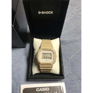 ジーショック(G-SHOCK)のCASIO G-SHOCK サンドベージュ色 (腕時計(デジタル))