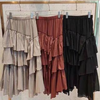 snidel - プリーツディテールスカート
