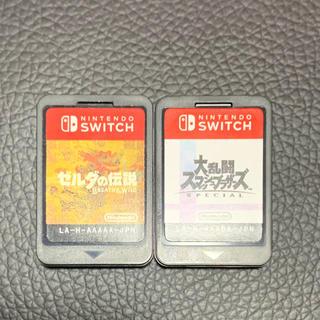 ニンテンドースイッチ(Nintendo Switch)の大乱闘スマッシュブラザーズ SPECIAL ゼルダの伝説 ブレスオブザワイルド(家庭用ゲームソフト)