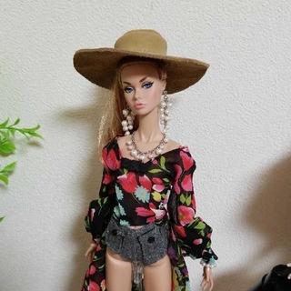 バービー(Barbie)のポピーパーカー ドール用ハット(人形)