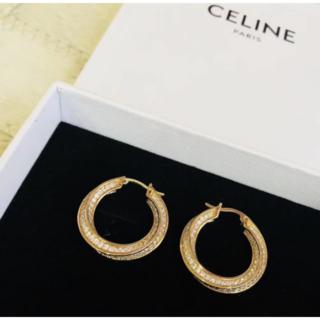 celine - ピアス おしゃれ セリーヌ アクセサリー 保存袋付き 大人気