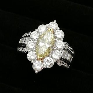 Pt900/K18 宝石指輪 写真写りも素敵な子は素敵♥️ 美人は美人(^-^)(リング(指輪))