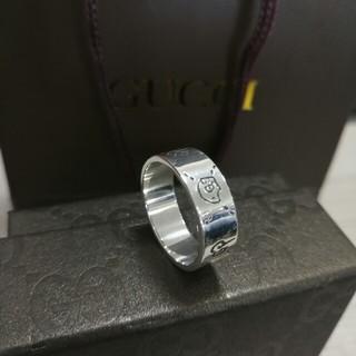 グッチ(Gucci)の素敵❤️ Gucci グッチ リング 指輪 メンズ 10号(リング(指輪))