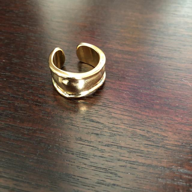 神戸レタス(コウベレタス)のイズントシー  ゴールドリング レディースのアクセサリー(リング(指輪))の商品写真