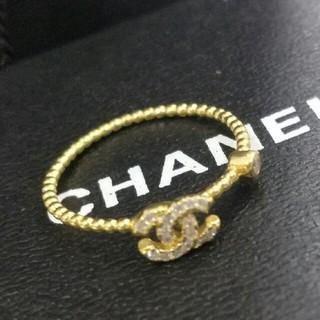 シャネル(CHANEL)のCHANELシャネル レディース 指輪 リング 超美品ファッション 正規品 8#(リング(指輪))