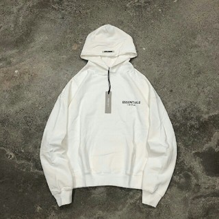 FEAR OF GOD - 特価  最新作  Fear of god  パーカー ホワイト