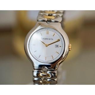 Tiffany & Co. - 美品 ティファニー テソロ 18KYG コンビ メンズ Tiffany