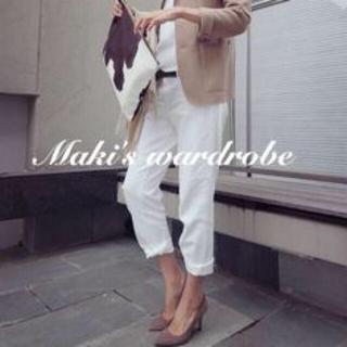 DEUXIEME CLASSE - MUSE de Deuxieme classe デニム パンツ ホワイト ◆美品