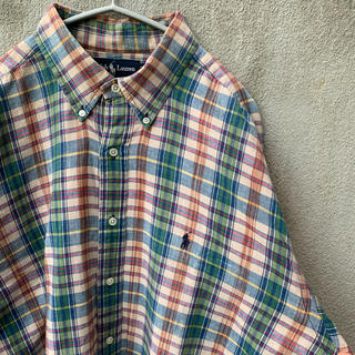 ラルフローレン(Ralph Lauren)の90s チェックシャツ マルチカラー ラルフローレン Ralph Lauren(シャツ)