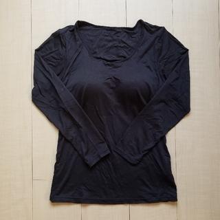 ユニクロ(UNIQLO)のユニクロ ヒートテック ブラトップ ブラック XL(アンダーシャツ/防寒インナー)