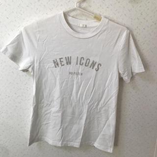 ジーユー(GU)のGU白TシャツMサイズ(Tシャツ(半袖/袖なし))