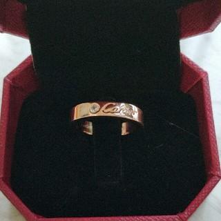 カルティエ(Cartier)のCartier カルティエ ピンクゴールド リング 綺麗 US6号(リング(指輪))