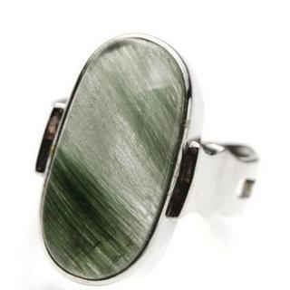 グリーンルチルクォーツ(リング(指輪))