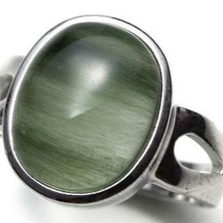 グリーンルチルクォーツ デザインリング(リング(指輪))