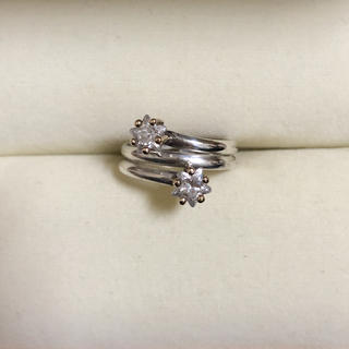 STAR JEWELRY - star jewelry K14 925 スターモチーフ リング