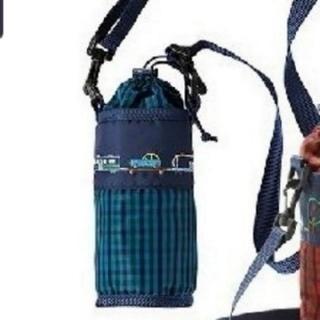 ファミリア(familiar)のファミリア ペットボトルホルダー青 新品(水筒)
