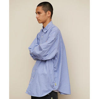 BEAMS - SSZ × A.H コラボ Big Shirt LT.BLUE ST beams