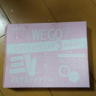 ウィゴー(WEGO)のwe go  ロマンティックコスメ ニコラ付録(コフレ/メイクアップセット)