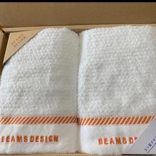 ビームス(BEAMS)の【新品】BEAMS フェイスタオルセット(タオル/バス用品)