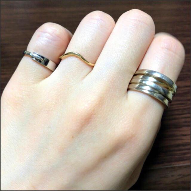 ete(エテ)のete エテ ピンキーリング 3号 レディースのアクセサリー(リング(指輪))の商品写真