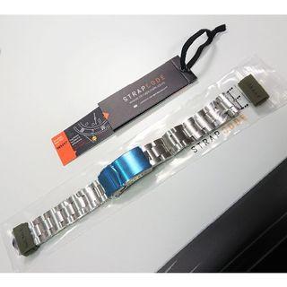 セイコー(SEIKO)のSTRAP CODE社製 SEIKO ミニタートル用ブレス 新品未使用 20mm(金属ベルト)