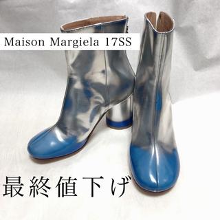マルタンマルジェラ(Maison Martin Margiela)のMaison Margiela 17SS レザー ショート ブーツ  箱アリ(ブーツ)