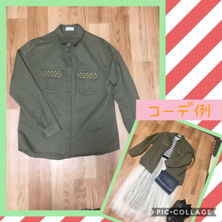 LEPSIM - カーキ ミリタリージャケット