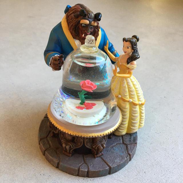Disney(ディズニー)の美女と野獣 スノードーム エンタメ/ホビーのおもちゃ/ぬいぐるみ(キャラクターグッズ)の商品写真