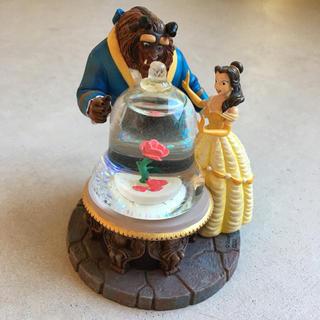 ディズニー(Disney)の美女と野獣 スノードーム(キャラクターグッズ)
