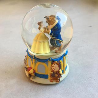 ディズニー(Disney)の美女と野獣 スノードームオルゴール(キャラクターグッズ)
