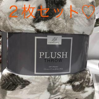 コストコ(コストコ)の新品未使用♡コストコ♡ブランケット♡毛布(毛布)