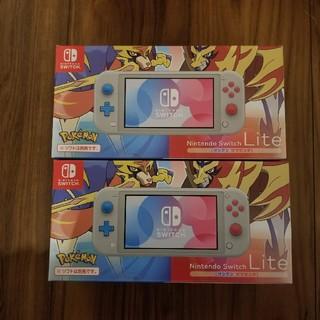 ニンテンドースイッチ(Nintendo Switch)のNintendo Switch Lite ザシアンザマゼンタ 2台(家庭用ゲーム機本体)