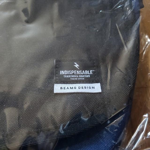 BEAMS(ビームス)の【新品未使用】 BEAMS DESIGN ミニメッセンジャーバッグ  メンズのバッグ(トートバッグ)の商品写真