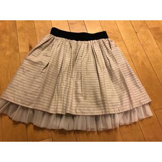 スコットクラブ(SCOT CLUB)のスコットクラブ チュール スカート(ひざ丈スカート)