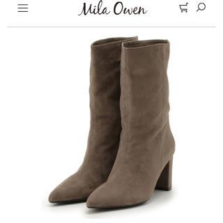 ミラオーウェン(Mila Owen)のミラオーウェン ミドルブーツ(ブーツ)