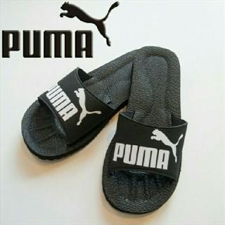 PUMA - 新品 プーマ デザイン サンダル ブラック 27センチ 送料無料 黒 PUMA