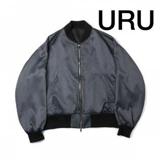 コモリ(COMOLI)の【セール】 URU ウル オーバーサイズジップアップジャケット(ブルゾン)