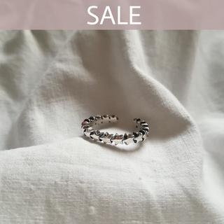 Kastane - 【数量限定SALE】silver 925 star ring  * 1