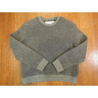 コモリ(COMOLI)の新品 POLYPLOID クルーネックプルオーバー ニット セーター(ニット/セーター)