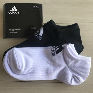adidas - アディダス スニーカーソックス 2足セット