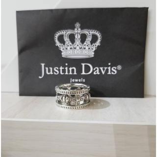 ジャスティンデイビス(Justin Davis)のジャスティンデイビス メディバルウェディングバンドリング 12号 美品 (リング(指輪))