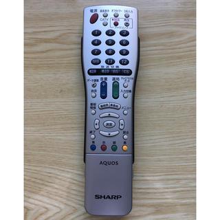 シャープ(SHARP)のGA661WJSAシャープ AQUOS テレビリモコン(その他)