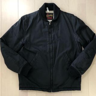 テンダーロイン(TENDERLOIN)のテンダーロイン  リブワーク ジャケット 2nd 黒 Mサイズ(ブルゾン)
