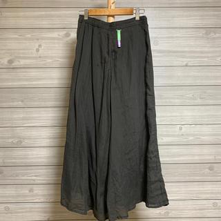 シップス(SHIPS)のSHIPS ロングスカート 38  深緑(ロングスカート)