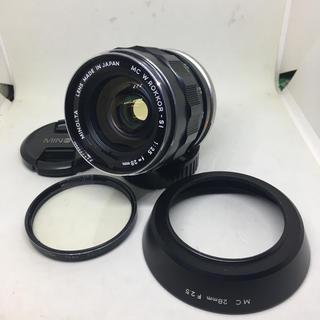 KONICA MINOLTA - MINOLTA MC W.ROKKOR-SI 28mm F2.5です(・∀・)