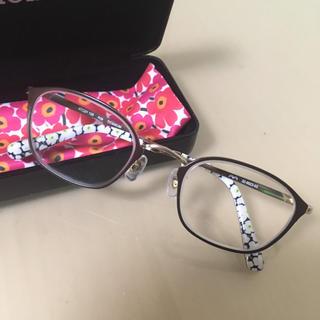 マリメッコ(marimekko)のマリメッコ marimekko 32-0022 眼鏡 メガネ(サングラス/メガネ)